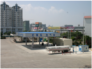 CNG secondary filling station